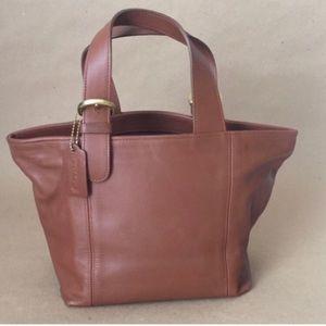Make An Offer=Coach Vintage Brown Leather Satchel